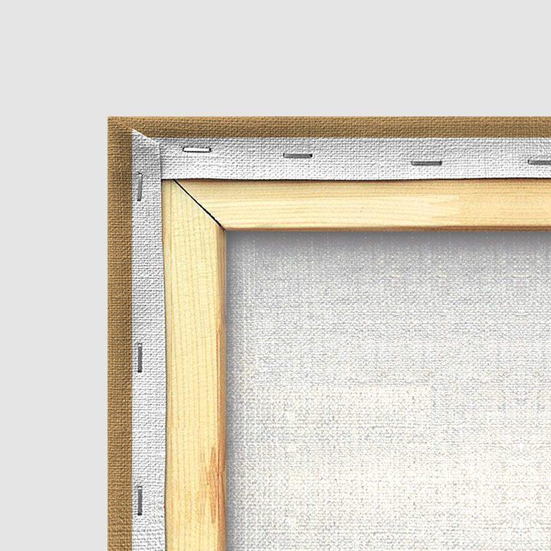 Tableau oriental tapis beige-détail