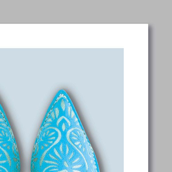 Poster oriental babouche