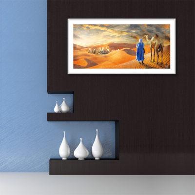 Poster oriental touareg désert