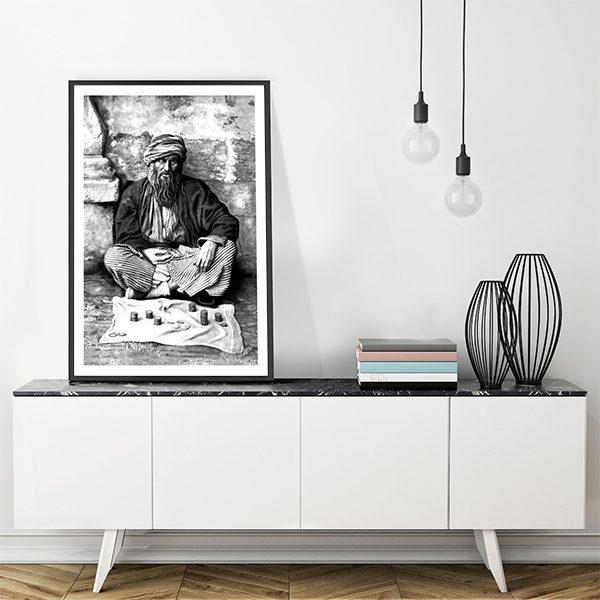 Poster oriental-mendiant