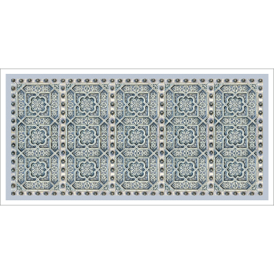 Poster oriental-motif métal