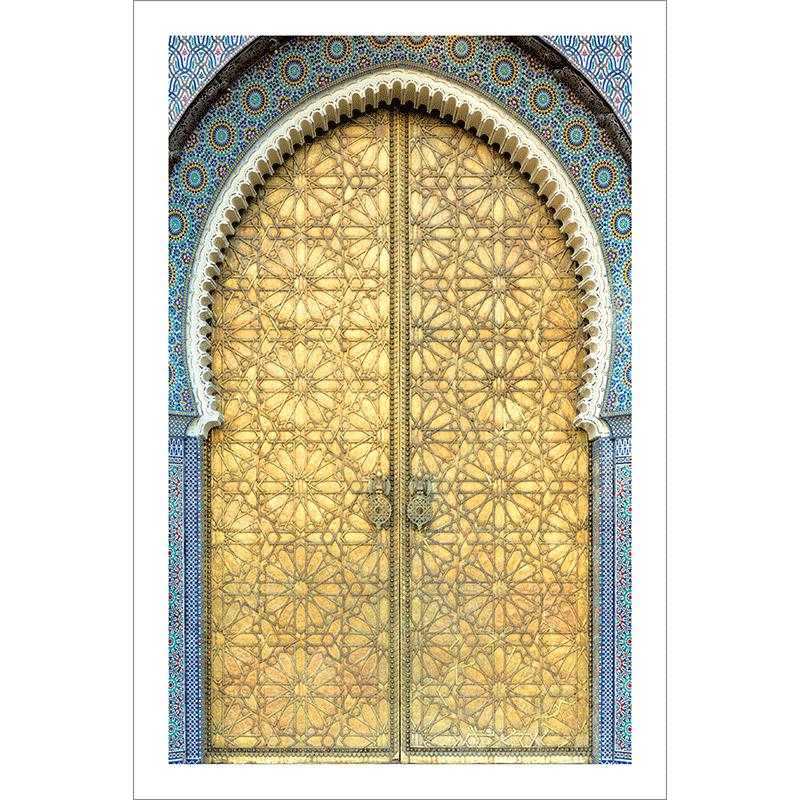 Poster oriental-porte