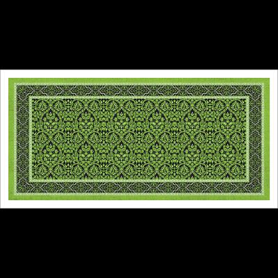 Poster oriental-tapis-vert