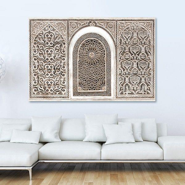 tableau oriental arabesque