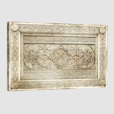 Tableau oriental décor arabe-beige