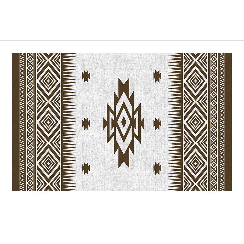 Tableau oriental-motif berbère-marron
