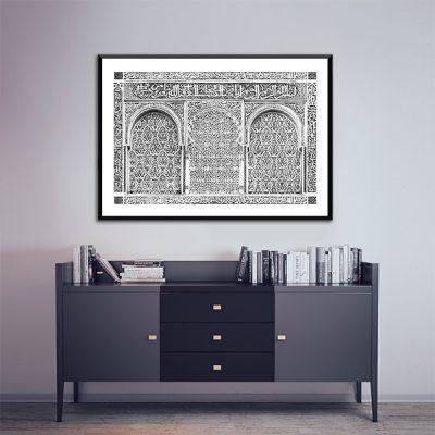 Poster arabe calligraphie islamique