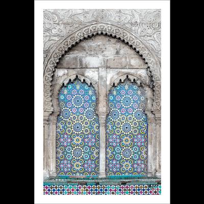Poster arabe-mosaique moderne