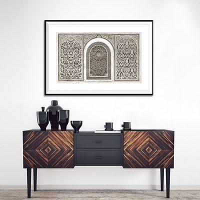 Poster oriental arabesque
