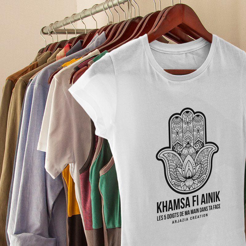 T-shirt main de fatma