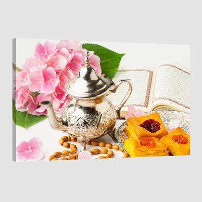 Tableau arabe théière