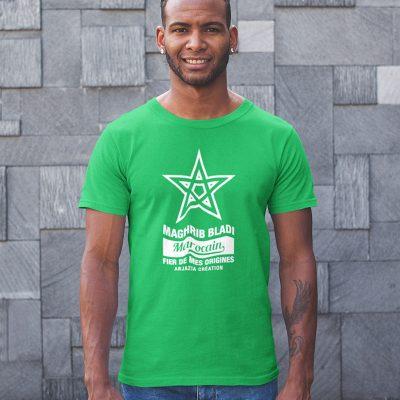 T-shirt maroc-maghrib bladi