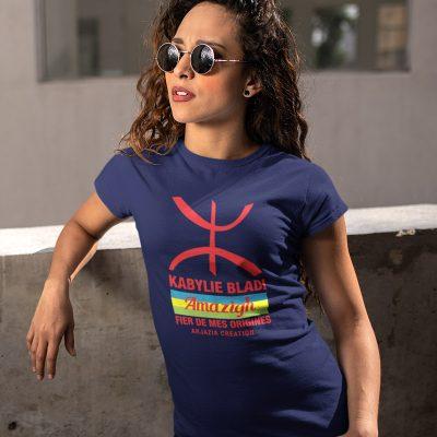 T-shirt kabylie femme-bladi