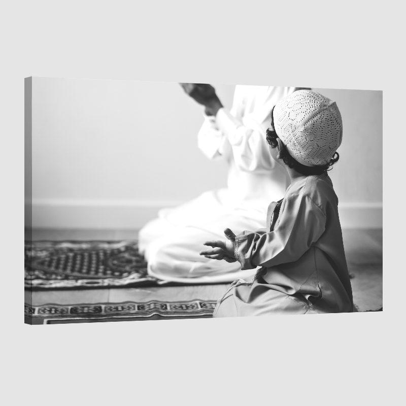Tableau islam-enfant