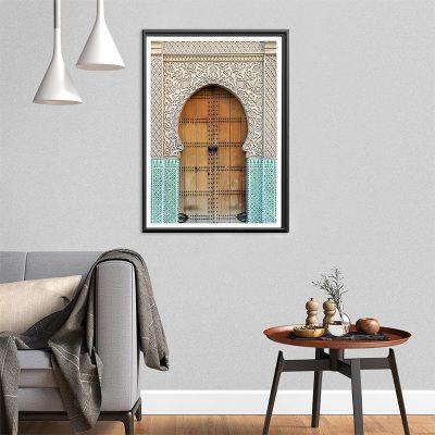 Affiche arabe-porte