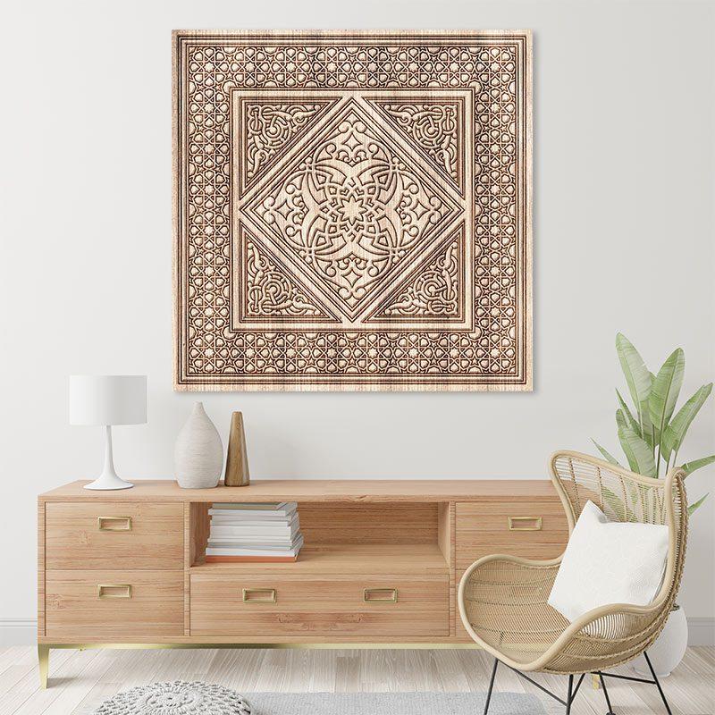 Tableau arabe-design moderne