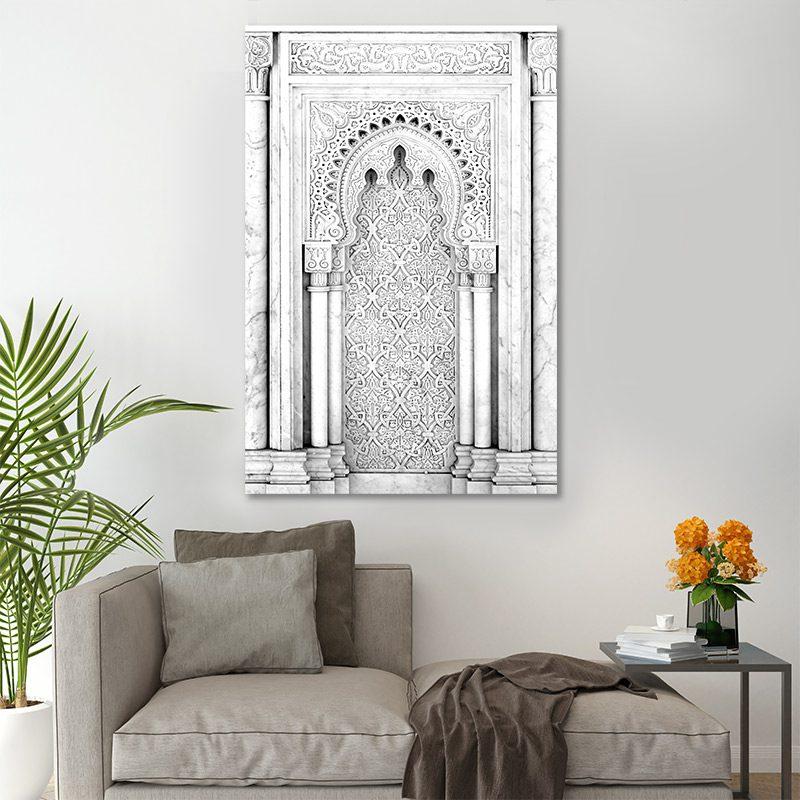 Tableau arabe porte arabesque